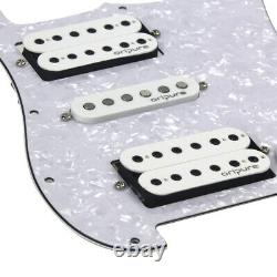 OriPure Prewired ST Guitar HSH 11 Hole Pick Guard Alnico 5 Pickup Assembly Set