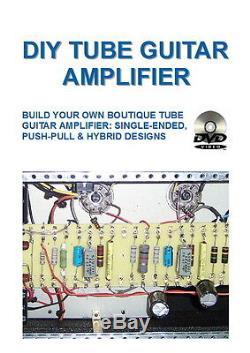 P8 DIY tube guitar amplifier 3 DVD set+Book Make your own valve amp EL34 6L6