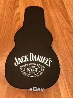 RARE Full Set JACK DANIELS 70CL GUITAR BOTTLE HOLDING CASE FROM THE UK (0)