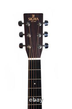 SIGMA GUITARS Gitarre GMCE+ mit Cutaway Custom + Sigma Tonabnehmer / NEU/NEW