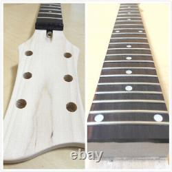 Semi-Hollow Body, NO-SOLDERING Electric Guitar DIY Kit, Set-Neck. GK HSRC 1910