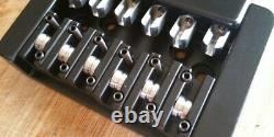 Set of 6 Replacement saddles for Steinberger/Hohner headless guitars