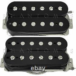 Seymour Duncan Alnico II Pro APH-2s Slash Humbucker Guitar Pickup Set BLACK NEW