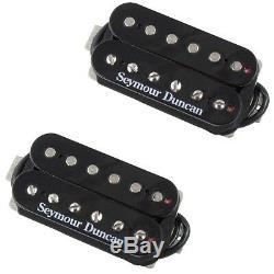 Seymour Duncan Black Distortion Mayhem SH-6b & SH-6n Guitar Humbucker Pickup Set