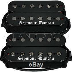 Seymour Duncan Black Winter Neck/Bridge Humbucker Set Metal Guitar Pickups NEW
