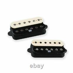 Seymour Duncan Duality Electric Guitar Pickup Set Zebra Neck and Bridge Set