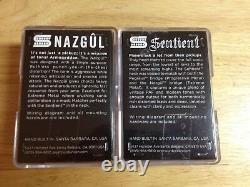 Seymour Duncan Nazgul Trembucker & Sentient 6 String Guitar Pickup Set BLACK