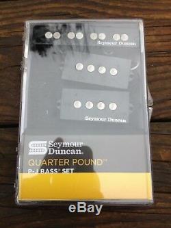 Seymour Duncan Quarter Pound P/J Bass Guitar Pickup Set Fender Precision / Jazz