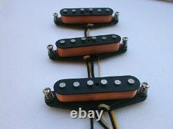Stratocaster A5 Guitar Pickups SET HandWound Q David Gilmour Black Strat Fender