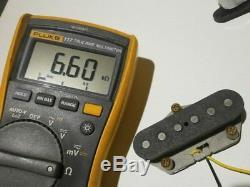 Telecaster Pickups Relic SET 69 AGED Tele 1969 VINTAGE CORRECT HandWound Guitar