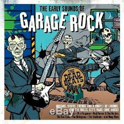 The Sounds Of Garage Rock Music NEW AND SEALED 2CD SET GUITARS DRUMS ENERGY