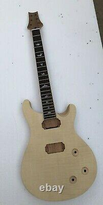Unfinished 1 Set Electric guitar body and neck mahogany 22fret kit for PRS style