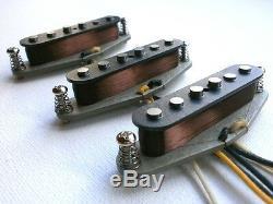 VINTAGE CORRECT Stratocaster A5 Guitar Pickups SET HandWound 65 1965 66 Hendrix