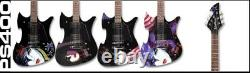 Washburn Kiss Paul Stanley Limited Edition Set of 4 PS400 Guitars, Sealed Box