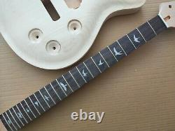 1 Ensemble De Manche Et De Corps De Guitare Électrique Inachevés Pour Le Style Prs