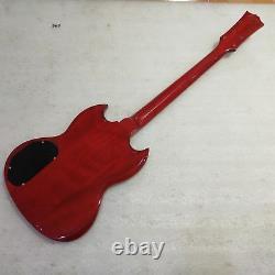 1 Ensemble Fini Electric Guitar Body And Neck / Diy Guitar Kit Sg Pièces