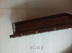 1 Ensemble New Zebra Wood Electric Guitar Body And Neck / Diy Guitar Kit