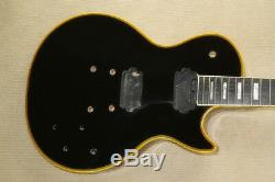 1 Jeu Fini Noir Guitare Cou Et Le Corps Pour Kit De Guitare De Style Lp