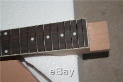 1 Jeu Inachevé Guitare Cou Et Le Corps Pour Kit De Guitare De Style Flying V