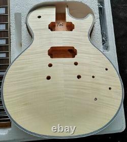 1 Meilleur Jeu Inachevé Bricolage Guitare Cou Et Le Corps Pour Le Kit De Guitare De Style Lpt Font Tous Partie