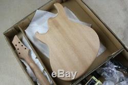 1 Meilleur Jeu Non Fini Guitare Au Cou Et Corps Couleur Bricolage Assemblage Guitare Électrique