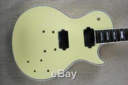 1 Set De Manche De Guitare Et Corps Finis Pour Kit De Guitare De Style Lp