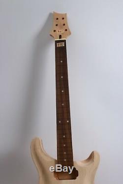 1 Set Kit De Guitare Électrique Corps De Manche De Guitare Accessoires De Guitare Non Finis Nouveau