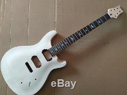 1 Set Manche De La Guitare Électrique Et Unfinished Corps Pour Guitare Style Prs Kit