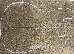 1265 Aaaaa 9mm Fragrance Ebony Wood Les Paul Guitar Fat Top Set Luthier
