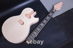 1set Ahogany Guitar Body Guitar Neck 22fret 24.75inch Set En Talon Flying V Head