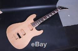 1set Corps Acajou Guitare + Érable Guitare Électrique Manche Diy Projet Guitare
