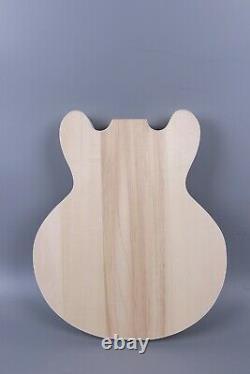 1set Electric Guitar Kit Mahogany Maple Cap Guitar Body Neck 22fret 24,75 En 339