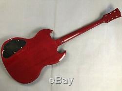 1set Fini Guitare Cou Et Le Corps Pour Le Style Sg Kit Guitare Bricolage