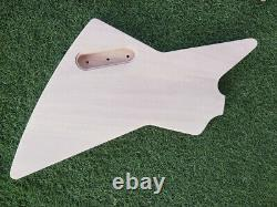 1set Guitar Guitar Col 22 Fret Guitar Body Banana Head Dot Inlay Set En Kit Bricolage