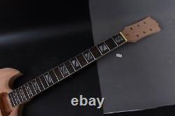 1set Guitar Kit Diy Guitare Manche 22fret 24.75in Guitar Body Sg Acajou Rosewood