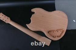 1set Guitar Kit Guitar Neck Body 22fret 24.75inch Sg Style Érable Fretboard Setin