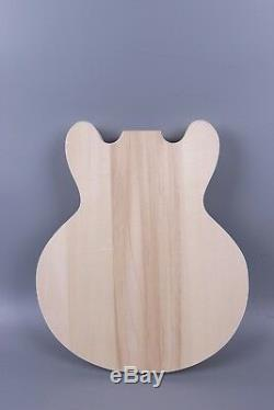 1set Guitar Kit Unfinished Guitare Cou 22fret Guitare Guitare Électrique Body 335