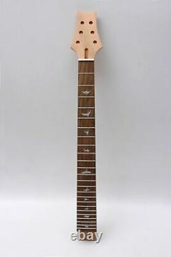 1set Guitare Électrique Kit 22 Fret Guitare Cou Body Maple Mahogany Unfinished Diy