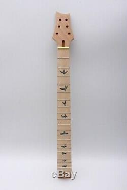 1set Guitare Électrique Kit Acajou D'érable Guitare Cou Guitare Semi Creux Du Corps