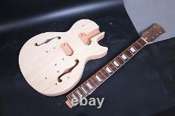 1set Guitare Électrique Kit Guitar Neck Body Maple Mahogany 22 Fret Pièces De Guitare