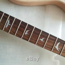 1set Guitare Électrique Kit Guitare Cou Et Le Corps D'érable Acajou 24 Frets Prs Style