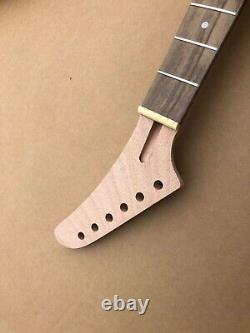 1set Guitare Kit Guitar Neck 22fret Guitar Body Banana Head Dot Inlay Set In Heel