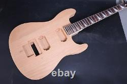 1set Unfinished Mahogany Guitar Body+guitar Neck 24fret 25.5inch