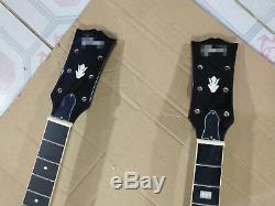 2 Jeux De Manche Et Corps De Guitare Finis Pour Kits De Guitare De Style Es335