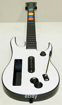 2 Nouvelles Manettes Nintendo Wii Guitar Hero + Gh3 Video Game Kit Ensemble 3 III