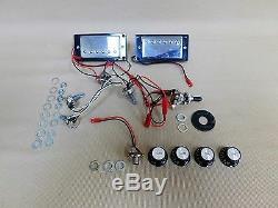 240diy Complète No-soudure Diy Kit Cou Set Guitare Électrique + Tuner + Choix