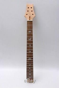 24fret Guitare Cou 24.75inch Oiseaux Inlay Acajou Touche Palissandre Situé Dans Kc