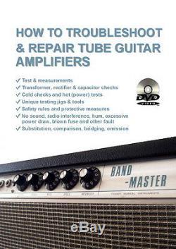 4dvd Ensemble Fix Troubleshoot Amplificateur Valve Repair Tube Guitar Amp Pour El84 6l6