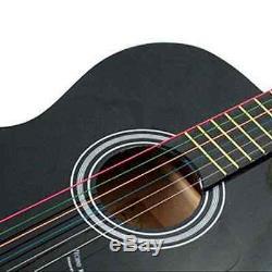 6pcs / Set Arc-en-couleur Coloré Cordes En Acier Pour Guitares Acoustiques Nouveau