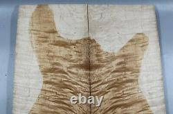 Aaaaa 9mm Elegant Flame Maple Wood Bookmatch Guitar Top Set Luthier Supply